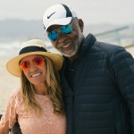 Carol Duboc and Hubert Laws at Venice Beach