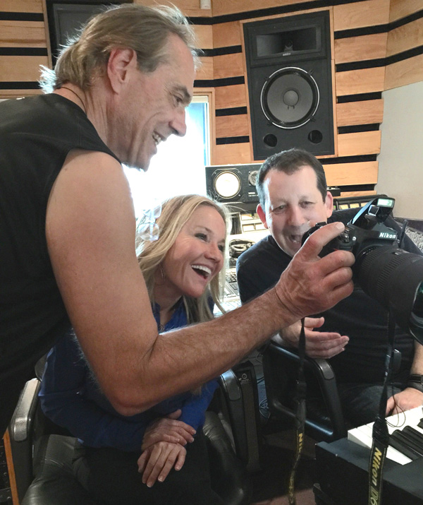 Vinny, Jeff Lorber and Carol Duboc