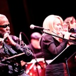 Hubert Laws and Carol Duboc in concert at the Folly