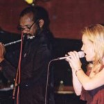 Carol Duboc and Hubert Laws at Catalina's in LA.