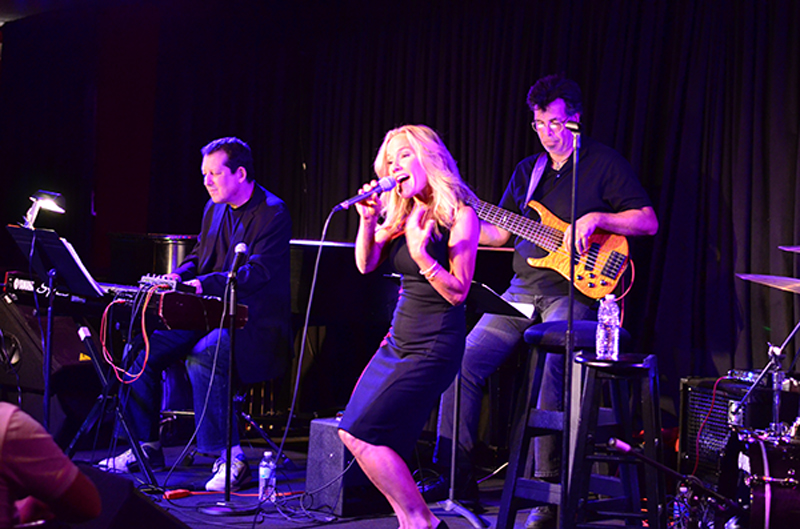 Carol Duboc concert with Jeff Lorber
